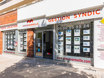logo Gimcovermeille poissy transaction gestion location